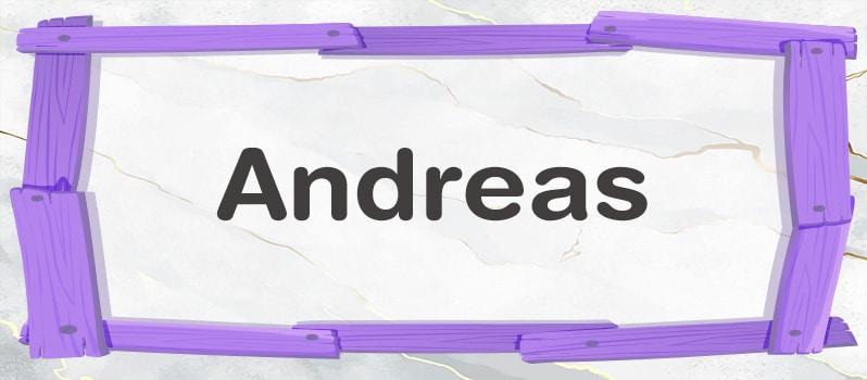 Andreas significado