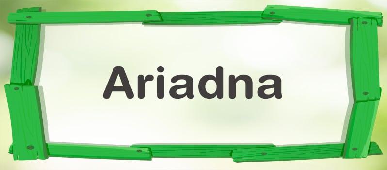 Cuál es el significado de Ariadna