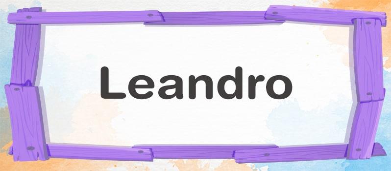 Cuál es el significado de Leandro