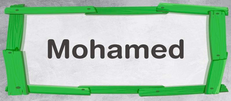 Cuál es el significado de Mohamed
