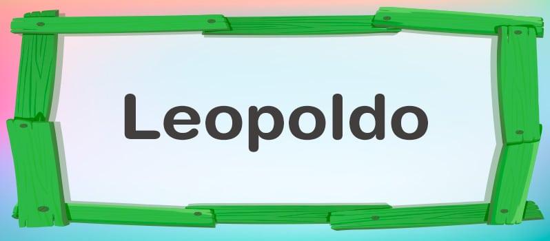 Leopoldo significado