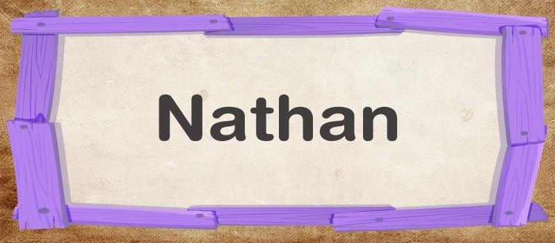 Nombre Nathan significado