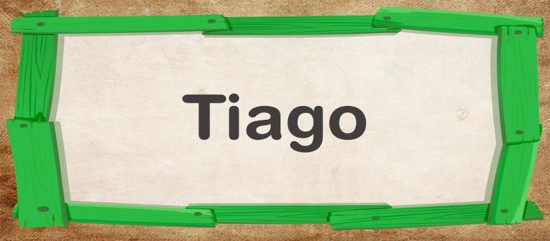 Qué significa Tiago