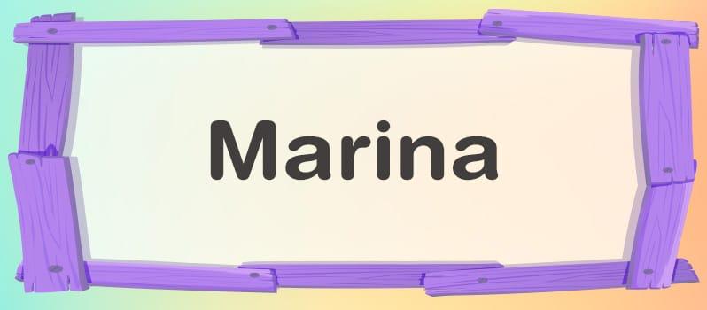 Significado de Marina