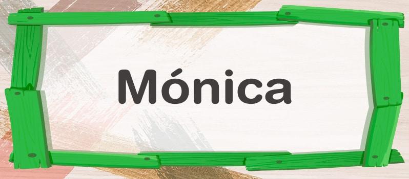 Significado de Mónica
