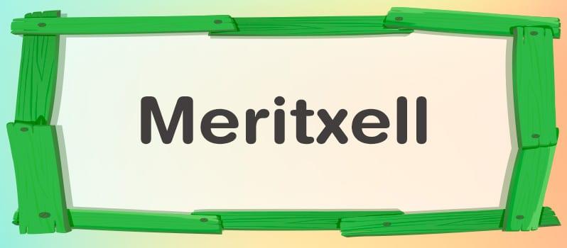 Significado del nombre Meritxell