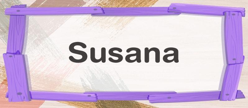 Susana significado